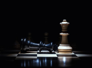 chess king lost