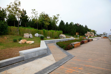 Wall Murals Cemetery Park Architectural scenery, Tangshan, China