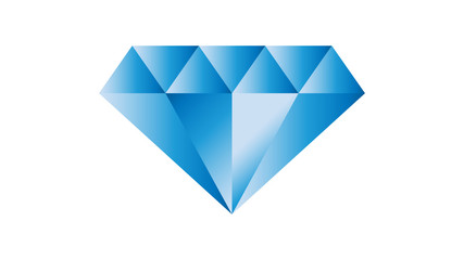 Diamond logo vector design. Diamond icon