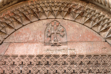 Wall of church Khor Virap monastery