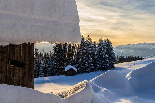 Wintertag im Allgäu