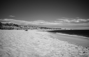 black and white infrared photography