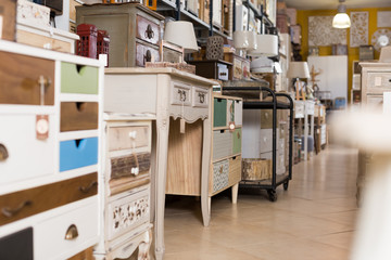 Furniture shop with exclusive designer furniture for home