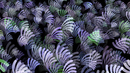 Abstract background pattern with plant matter.