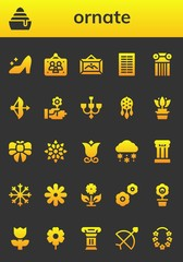 ornate icon set