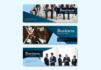 Business Web Banner Layouts