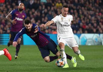 Copa del Rey - Semi Final First Leg - FC Barcelona v Real Madrid