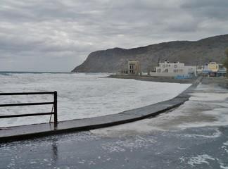 KÜste von Milatos Beach auf Kreta