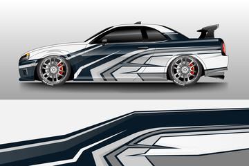 Car decal wrap company designs vector . Livery wrap company , van , cargo, truck .