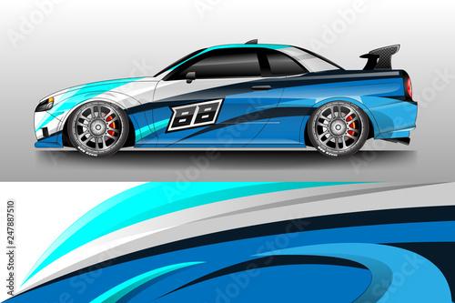 Car decal wrap company designs vector   Livery wrap company