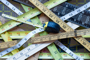 Crisscross Tape Measures