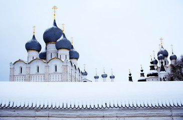 Russian Cathedral At Winter
