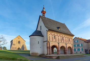 King's Hall at the Lorsch Monastery, Lorsch,  Germany