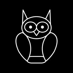 Vector Graduate Owl Icon