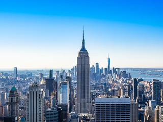 Photo sur Aluminium New York ニューヨーク マンハッタンの摩天楼