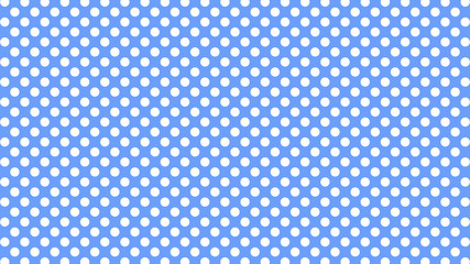 Polka dots abstract pattern comic Pop-art halftone pastel color Seamless background. Geometric wallpaper, good for printing.