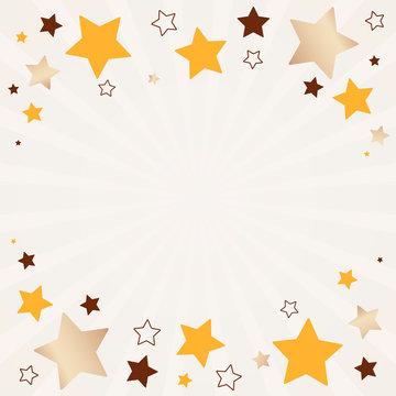 Stars background illustration
