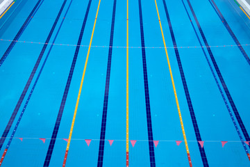 Image of swimming pool. The top view *** Local Caption *** Image of swimming pool. The top view