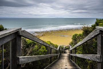 Staircase to Bells Beach
