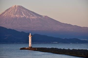 桜色の富士山~Mt.Fuji of Cherry Color.