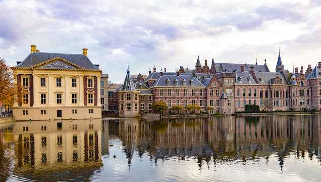 City The Hague ( Den Haag ). Historical government complex   Binnenhof