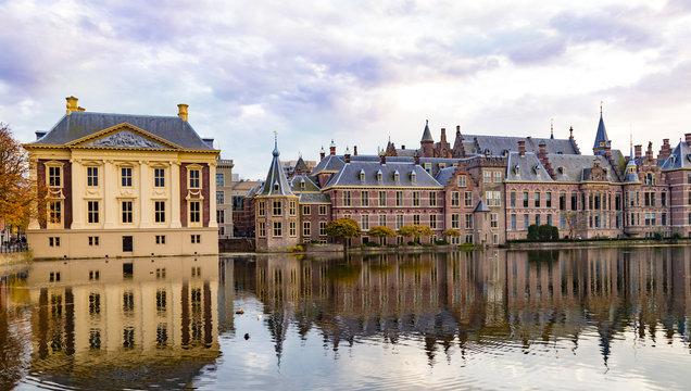 City The Hague ( Den Haag ). Historical government complex   Binnenhof