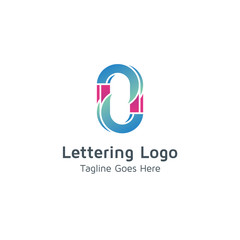 Lettering O Vector