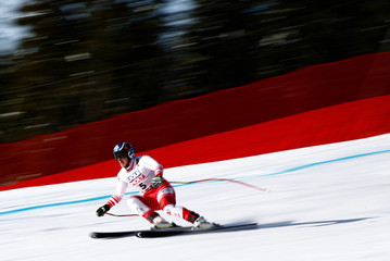 Alpine Skiing - FIS Alpine World Ski Championships - Men's Downhill Training