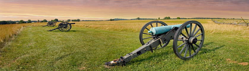 Wall Mural - Gettysburg Battlefield