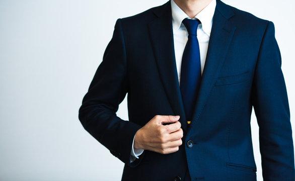 ビジネス 男性 スーツ