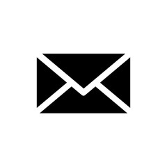 Message mail icon symbols vector
