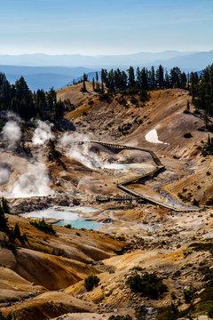 Bumpass Hell volcanic thermal area