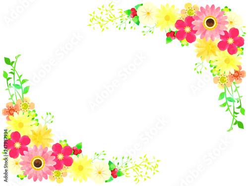 春の花のイラストの背景素材fotoliacom の ストック画像とロイヤリティ