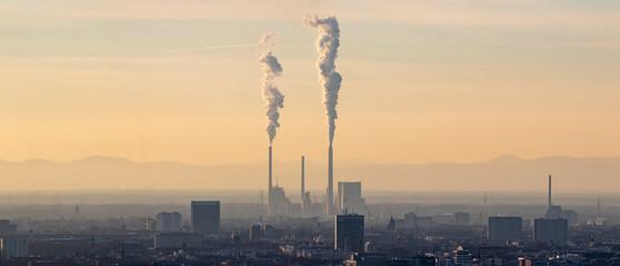 Karlsruhe und Kraftwerk