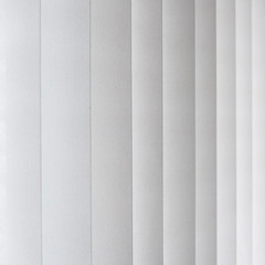 closed shutter of a curtain in grey color