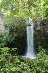 Silk Effect in the waterfalls