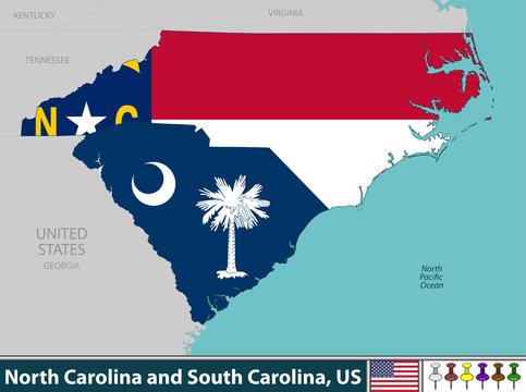North Carolina and South Carolina, United States