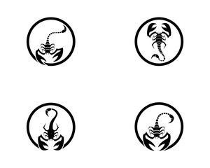 Scorpions icon illustration