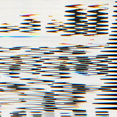 Abstract scanned digital pixel noise glitch background