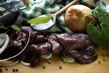 Fegato e cipolla ft9102_0522 Onion and liver Fegato alla veneziana Italian cuisine