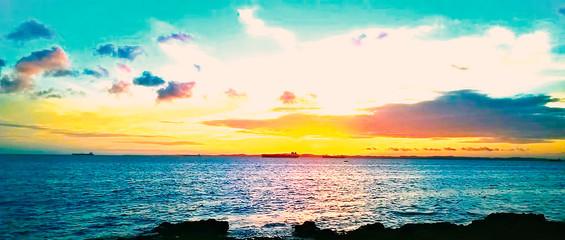 Ribeira sunset