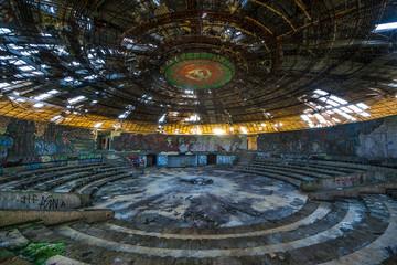 Buzludzha - abandoned bulgarian communist party's building, Bulgaria