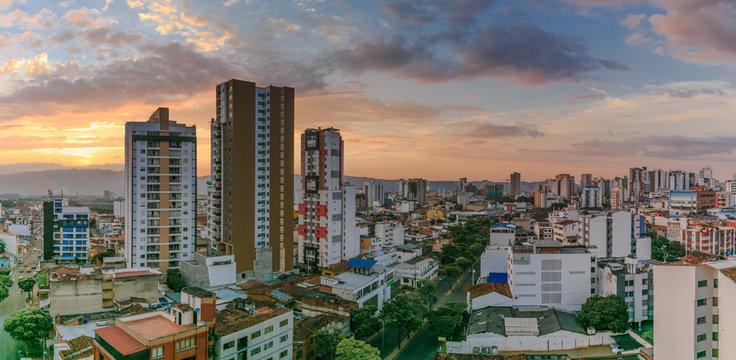 Panorama Bucaramanga City