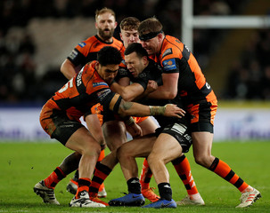 Super League - Hull FC v Castleford Tigers
