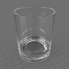Empty shot glass 2