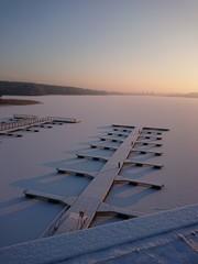 Fototapeta Jezioro Ukiel (Krzywe) Olsztyn - Warmia