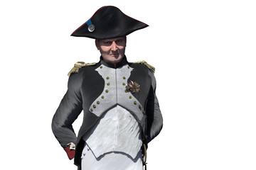 Napoleon Bonaparte, military leader and statesman of the 18th century render 3d Wall mural