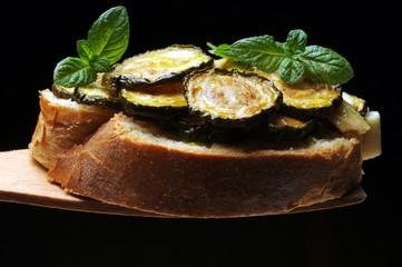 Zucchine alla scapece ft8105-09 Calabacín