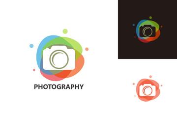 Colorful Photography Logo Template Design Vector, Emblem, Design Concept, Creative Symbol, Icon