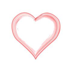 vector grunge heart, Valentine day, illustration vintage design element. Hand drawn style illustration with a grunge effect. Hearts with grunge texture.